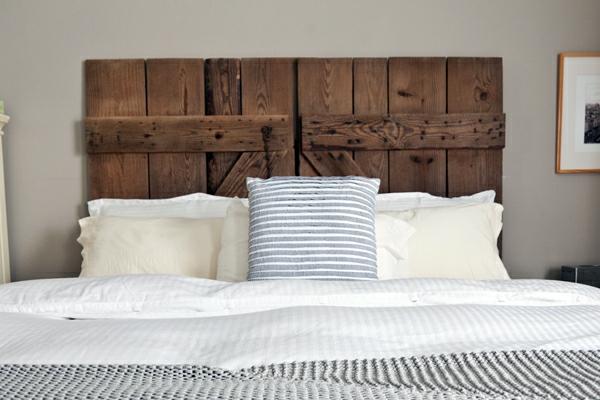 Cabeceros de cama en madera dormitorios con estilo - Cabeceros con estilo ...