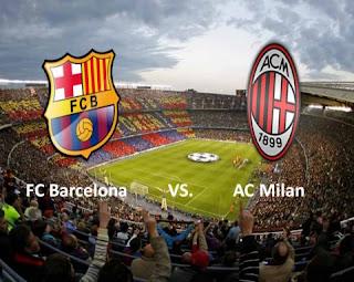 Barcelona Vs Milán clásico de Champions