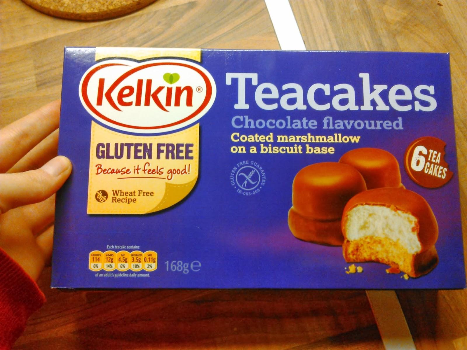 Kelkin Gluten Free Tea Cakes
