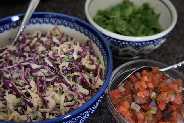 Chipotle-lime slaw