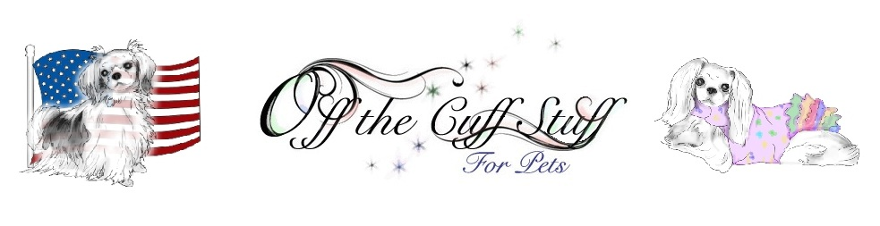 Off the Cuff Stuff for Pets Website