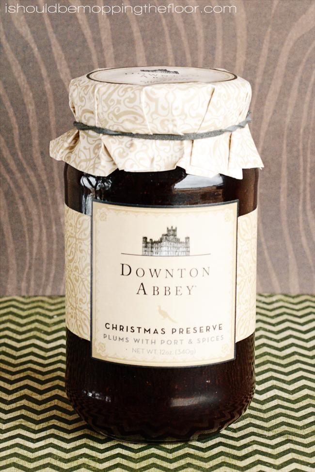 Downton Abbey Christmas Thumbprint Cookies