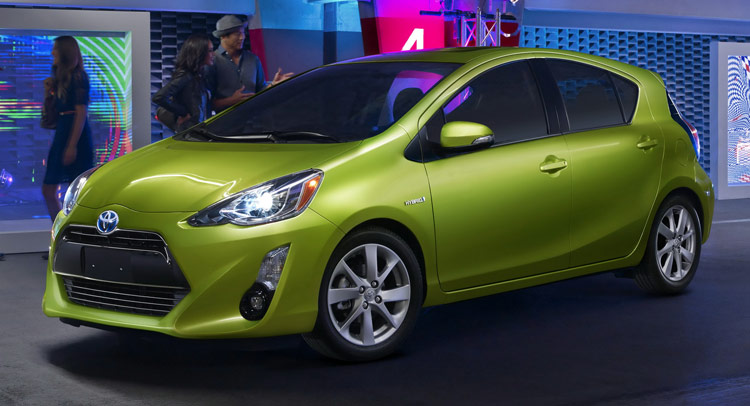 Toyota Gives 2015 Prius C Hybrid Hatch A Light Makeover