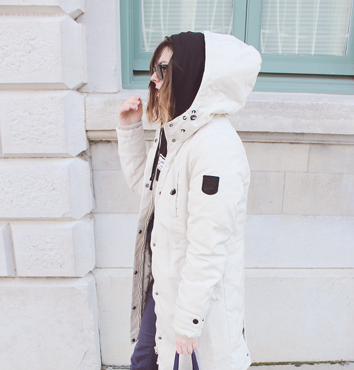 how to style a white parks, winter style inspiration