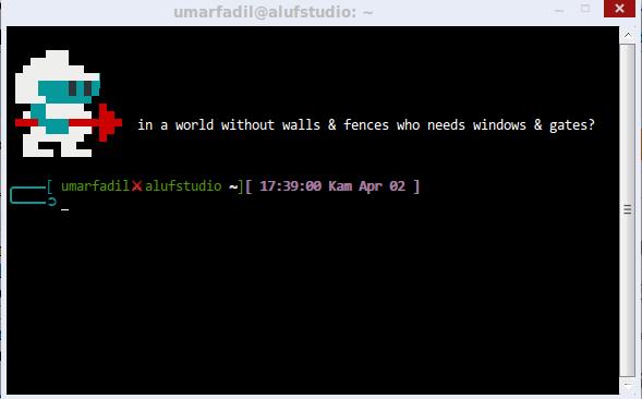 Terminal Linux | Fadil Setup