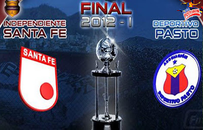 Santa Fe vs Pasto – final liga Postobon I 2012
