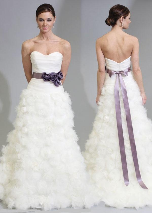 Purple tulip wedding dresses dress blog edin for Tulip wedding dress style