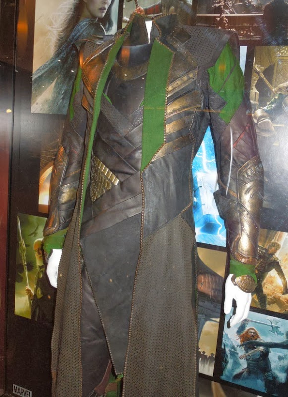 Thor 2 Loki movie costume