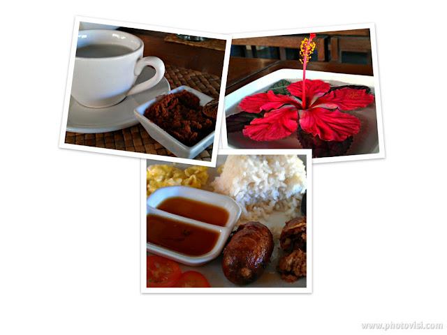 kapuluan vista resort breakfast