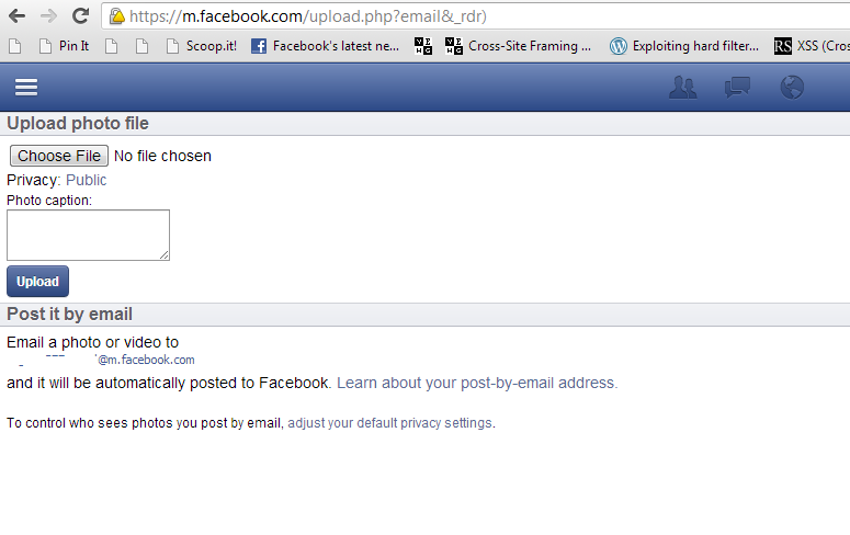 how to ask someone for facebook
