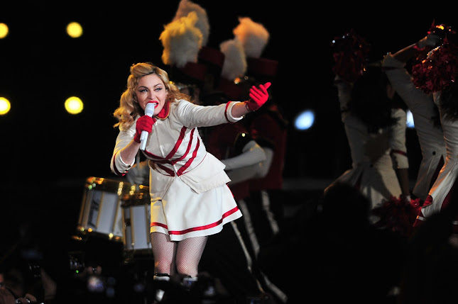 Madonna se apresenta em Santiago, no Chile (Foto: Francesco Degasperi/AFP)