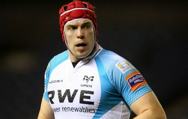 Alun Wyn Jones, rugby, Ospreys, second row, Wales, captain