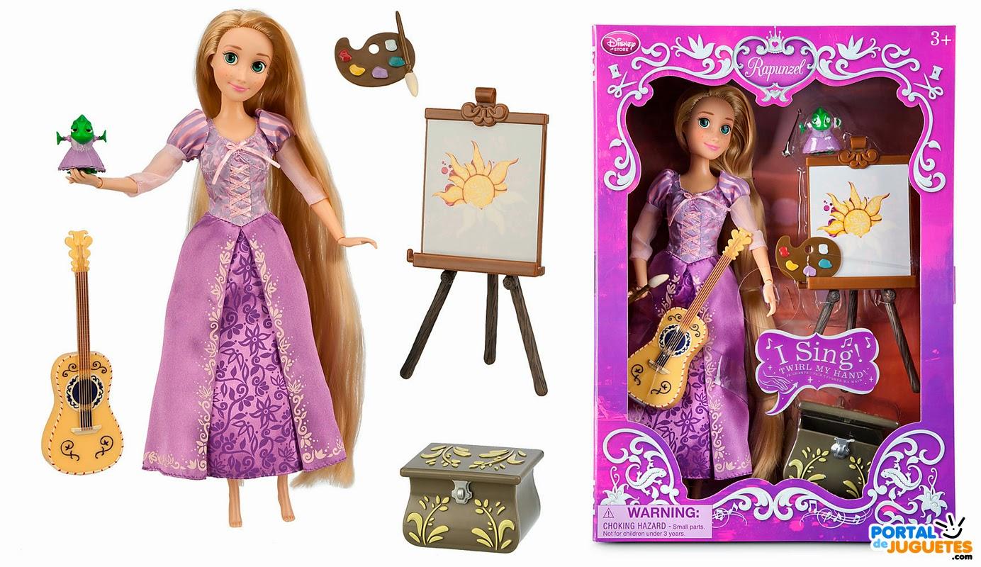 muñeca cantarina rapunzel deluxe singing doll