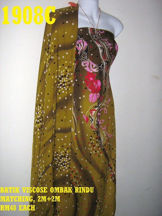 BVM 1908C: BATIK VISCOSE OMBAK RINDU MATCHING, EXCLUSIVE DESIGN, 2M+2M