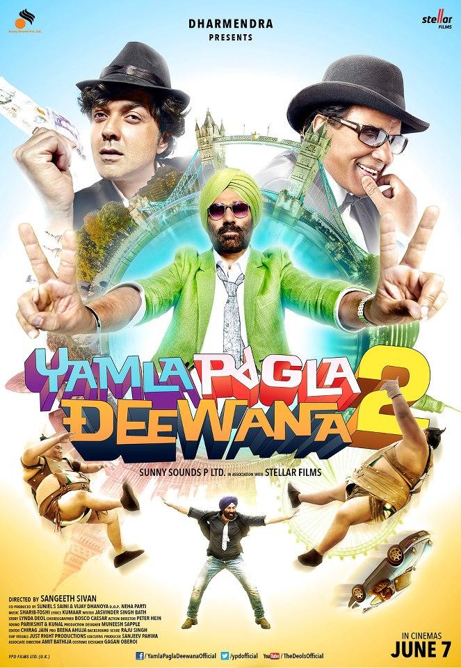 Yamla Pagla Deewana 2 2013 Hindi 480P DVDRip 450mb, Yamla Pagla Deewana 2 2013 Hindi movie 480p BRRip bluray 300mb free download or watch online at world4ufree.ws