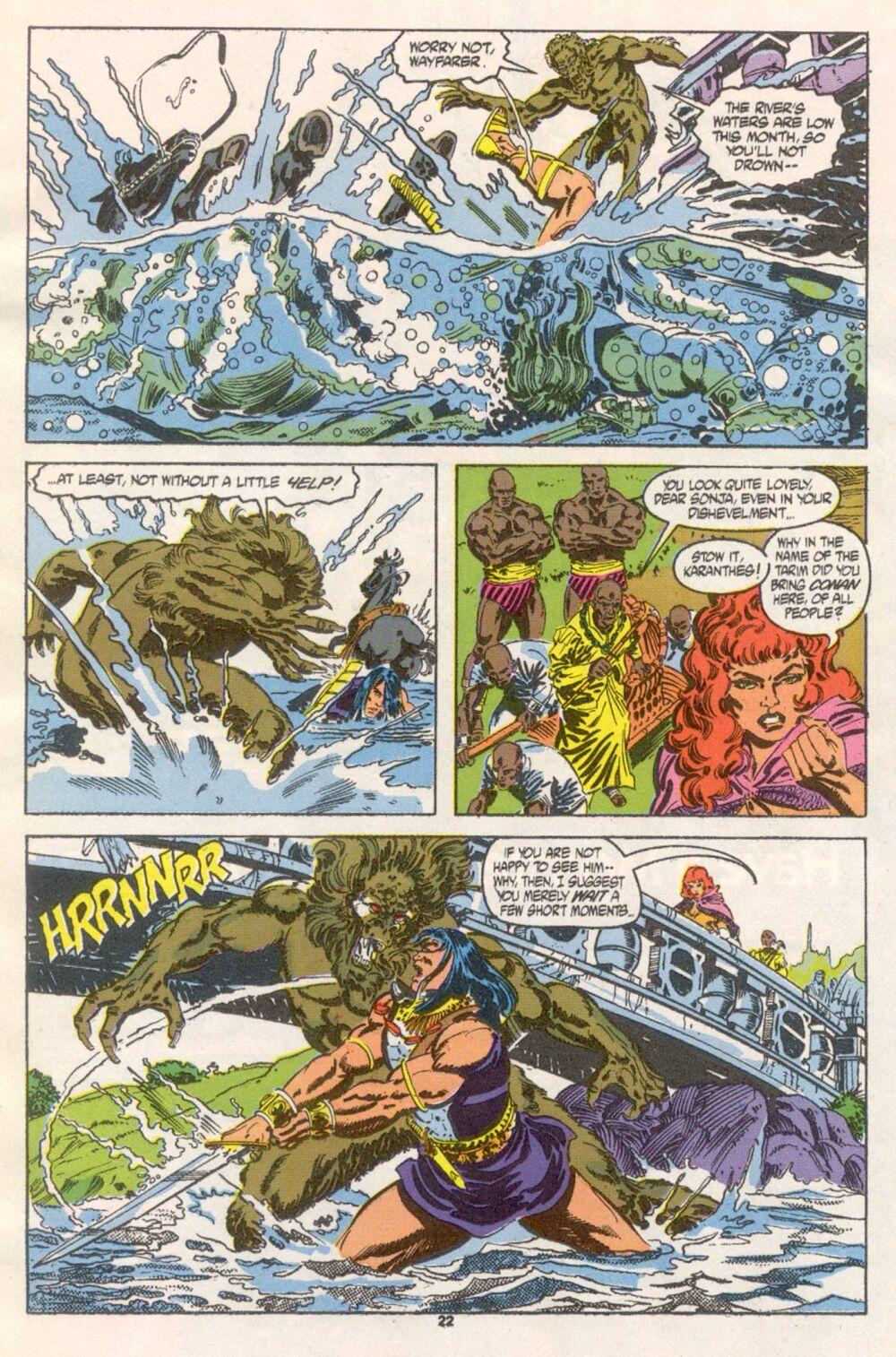 Conan the Barbarian (1970) Issue #241 #253 - English 18