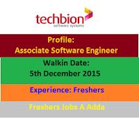 Techbion-Software-Systems-freshers-walkin