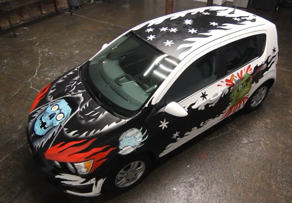 Chevy Sonic Urban Art Car Central Part 2