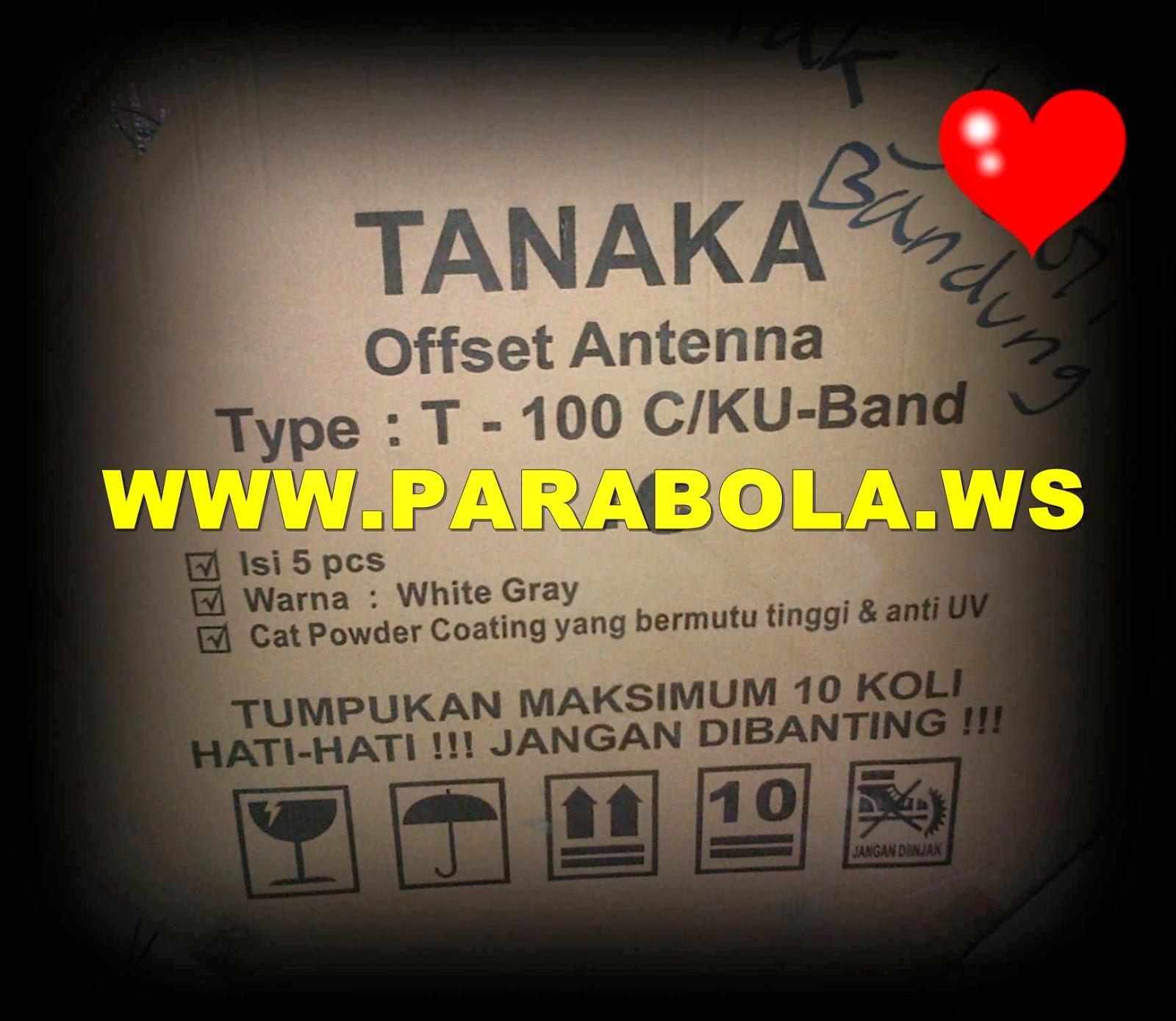 dus antena parabola offset solid 100 cm tanaka
