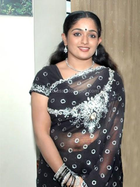 Malayalam actress Kavya Madhavan Navel show - Hot 4 Actress