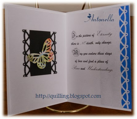 Antonella's Sympathy Card