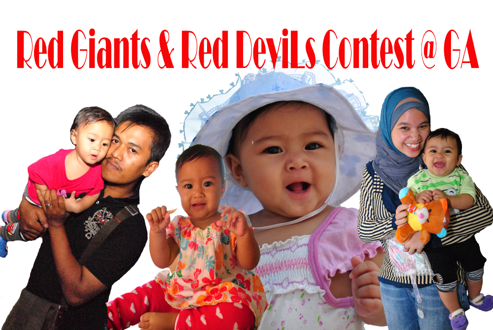 RED GIANT & RED DEVILS CONTEST