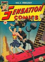 Sensation Comics #2 cover pic