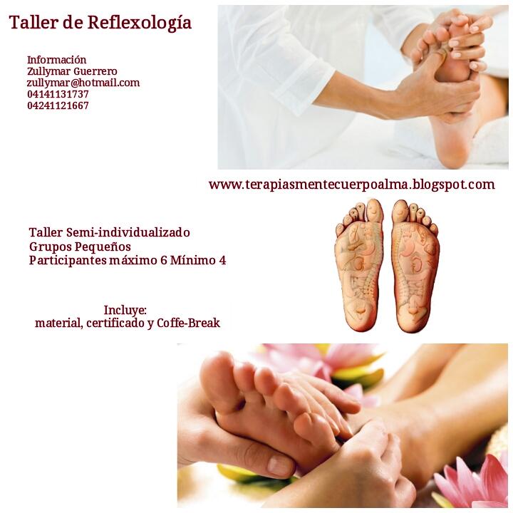 TALLER DE REFLEXOLOGIA PODAL