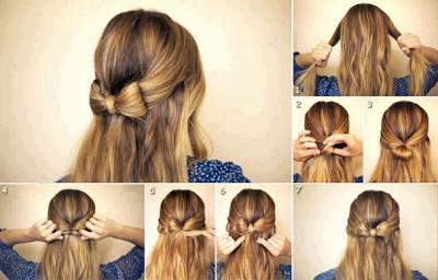 est une coiffure facile et peut être votre coiffure quotidienne