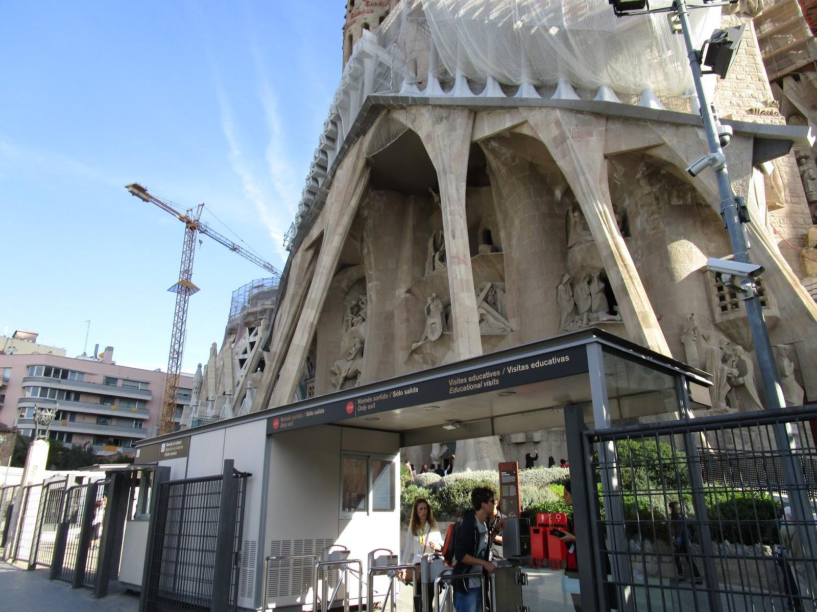 visite sagrada familia barcelone