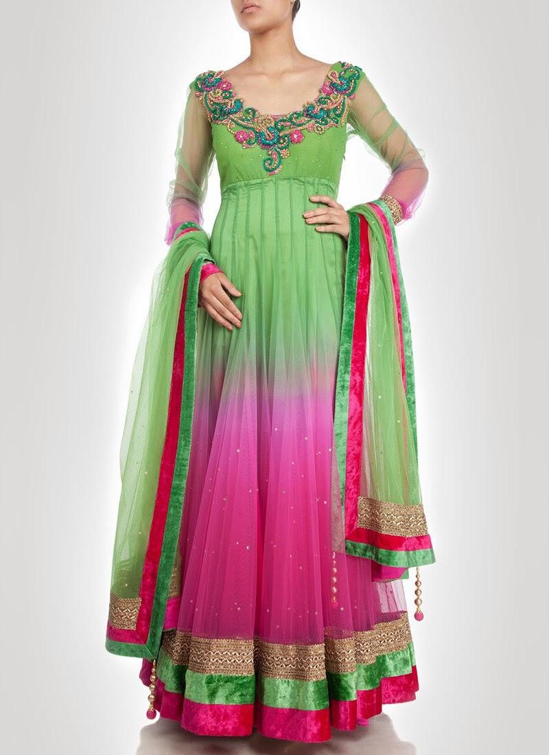 NewDesignsofLongAnarkaliSuitsCollection2014281229 - New Designs of Long Anarkali Suits Collection 2014