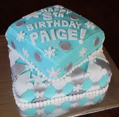 Boys Th Birthday Ice Skate Cake