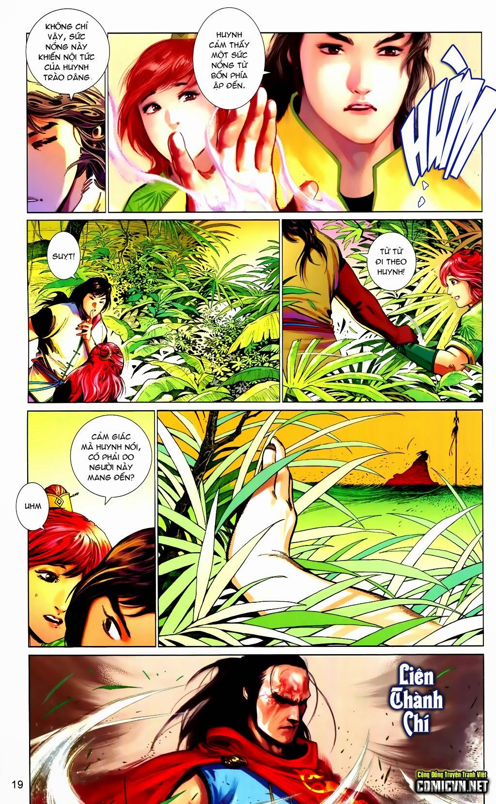 Phong Vân Chap 663 - Trang 19
