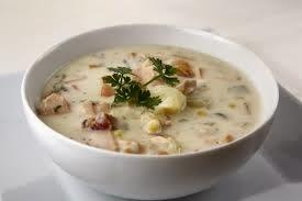 sopa de salmon