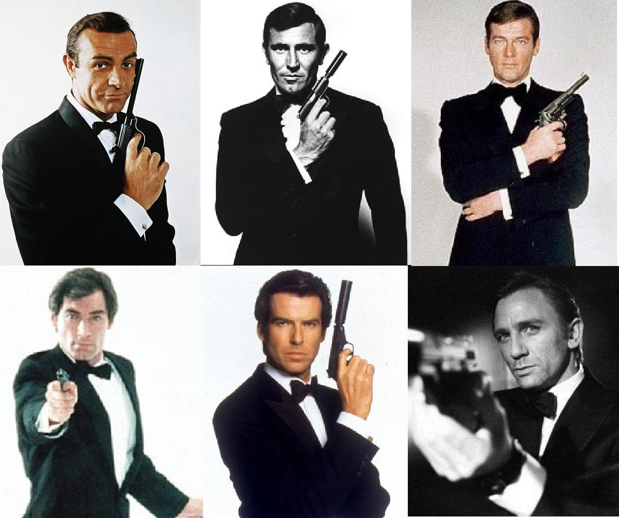 James Bond film... George Lazenby James Bond