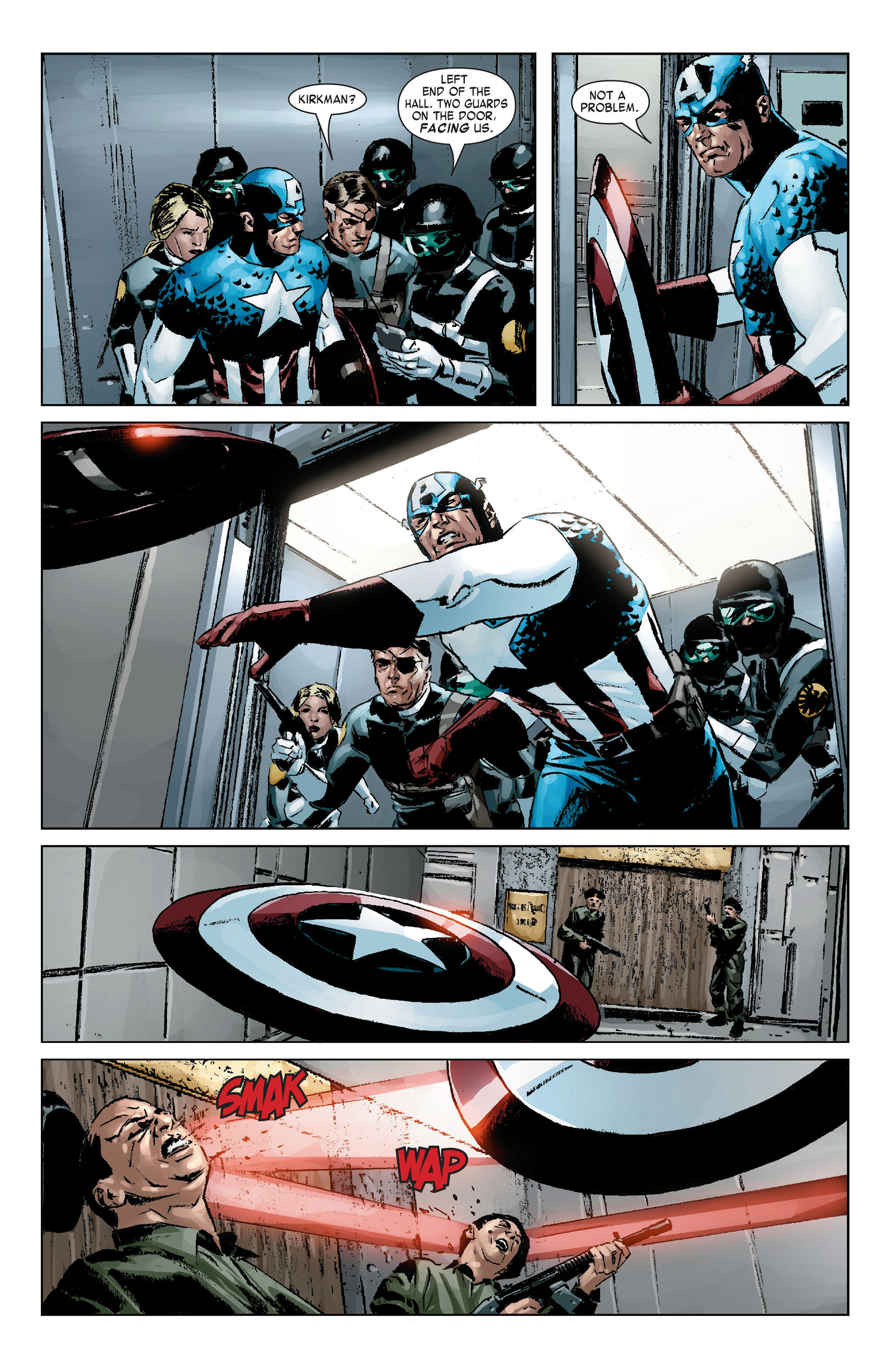 Captain America (2005) Issue #9 #9 - English 16