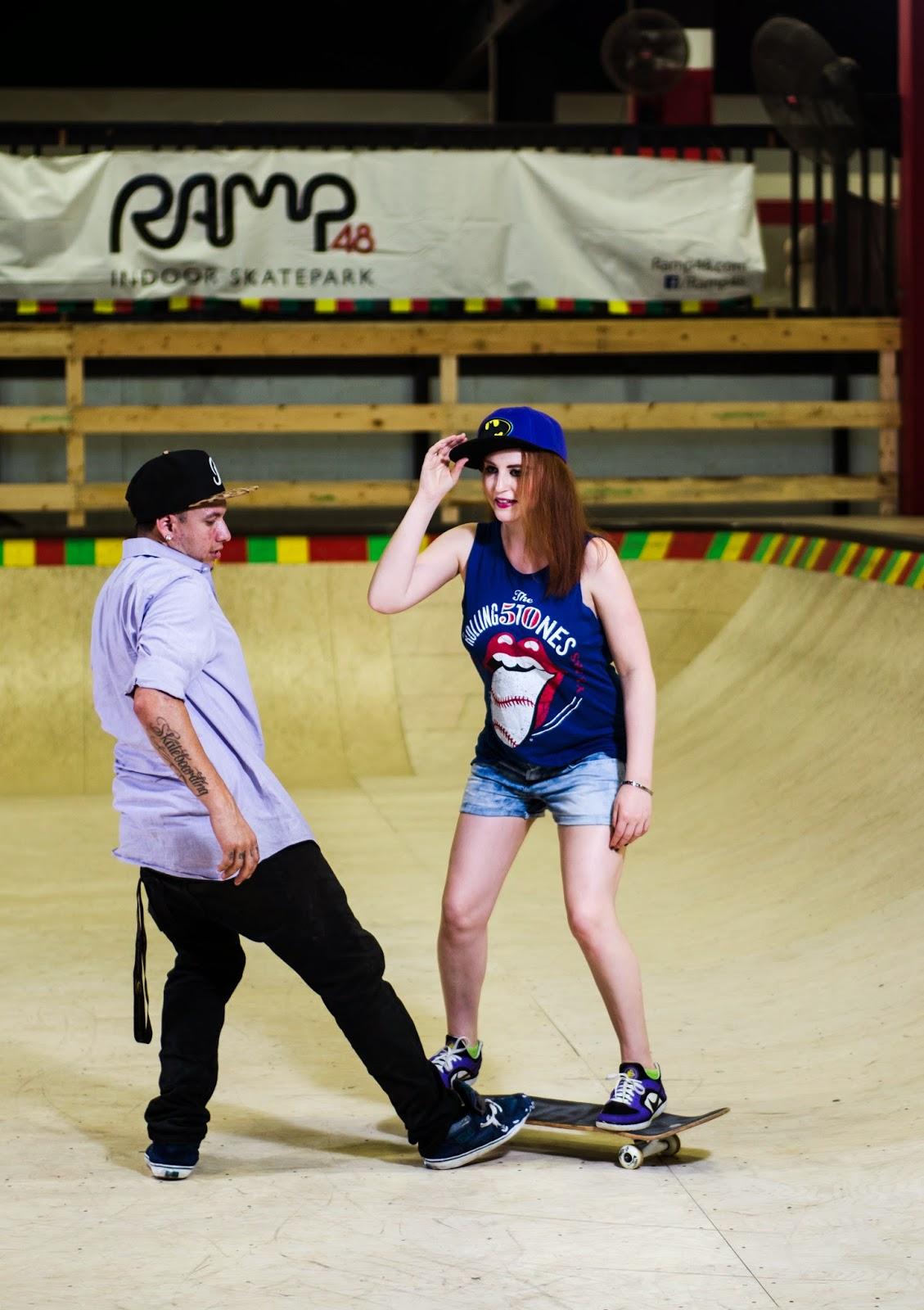 Twin Vogue Grunge Fashion Series Skater Girl