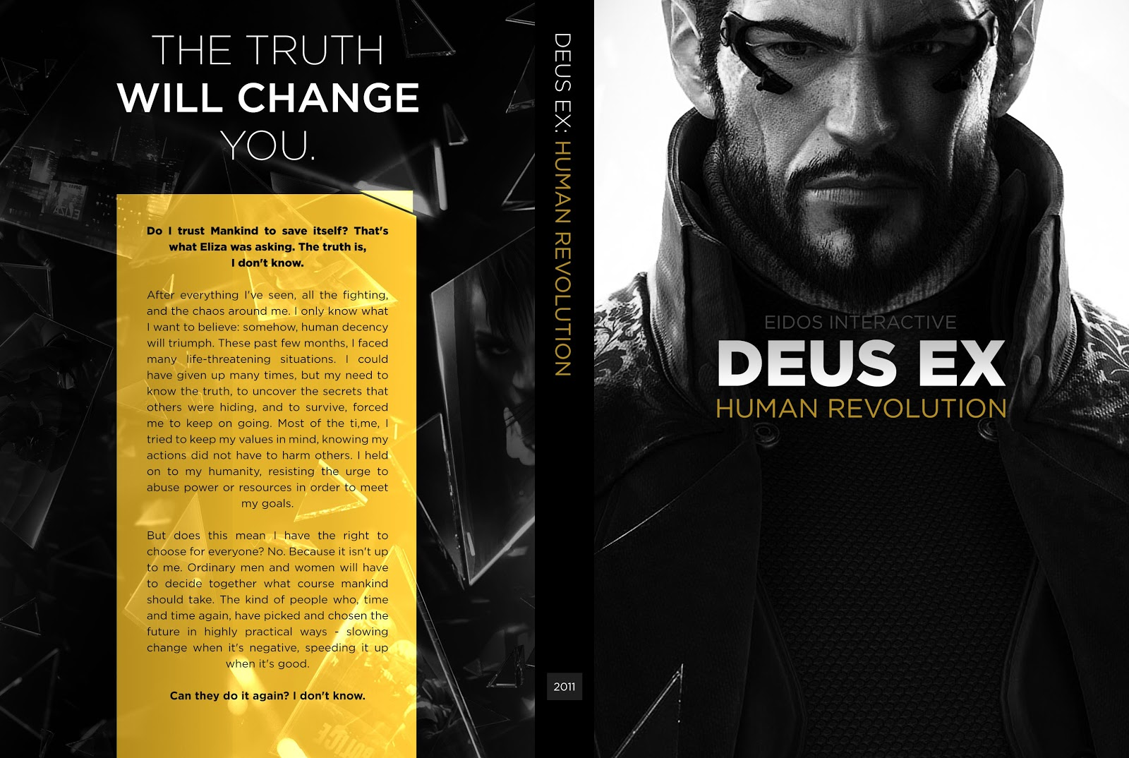 Capa Deus Ex Human Revolution PC