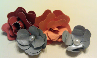 Handmade punched flower tutorial