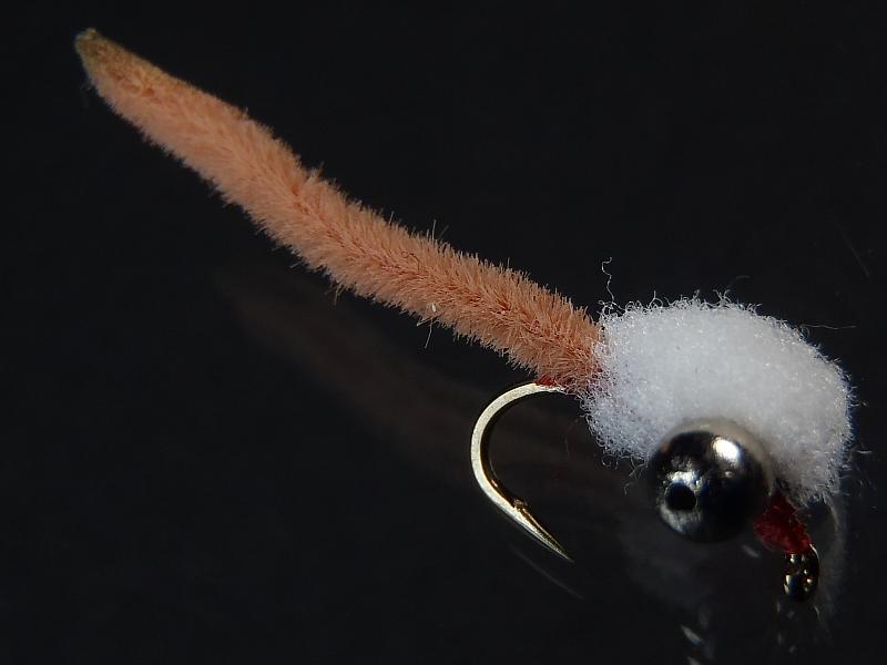Nolan Mahcher's Egg Worm Carp Fly