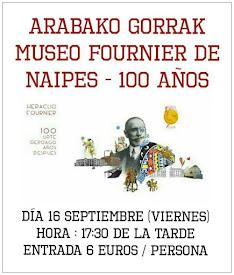 VISITA GUIADA FOURNIER DE NAIPES DE ÁLAVA // 16 SEPTIEMBRE