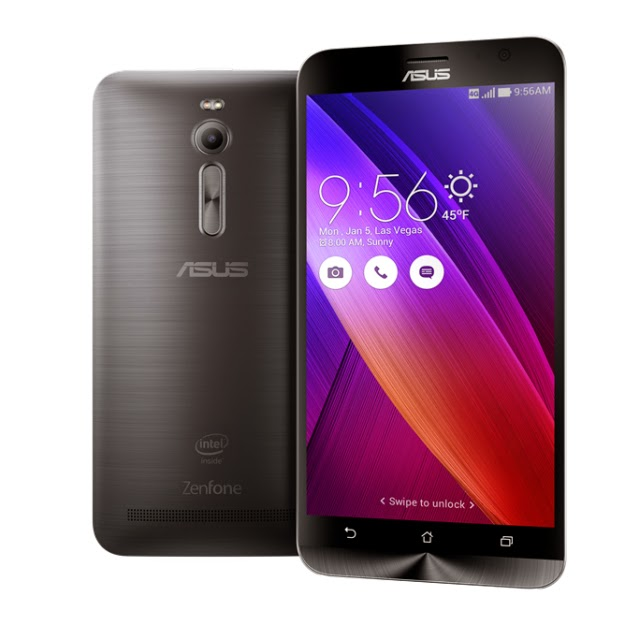 Asus Zenfone 2 ZE551ML Android Smartphone at CES 2015