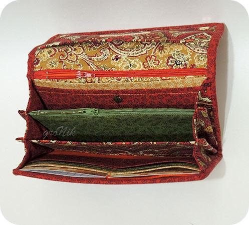 текстильный портмоне
