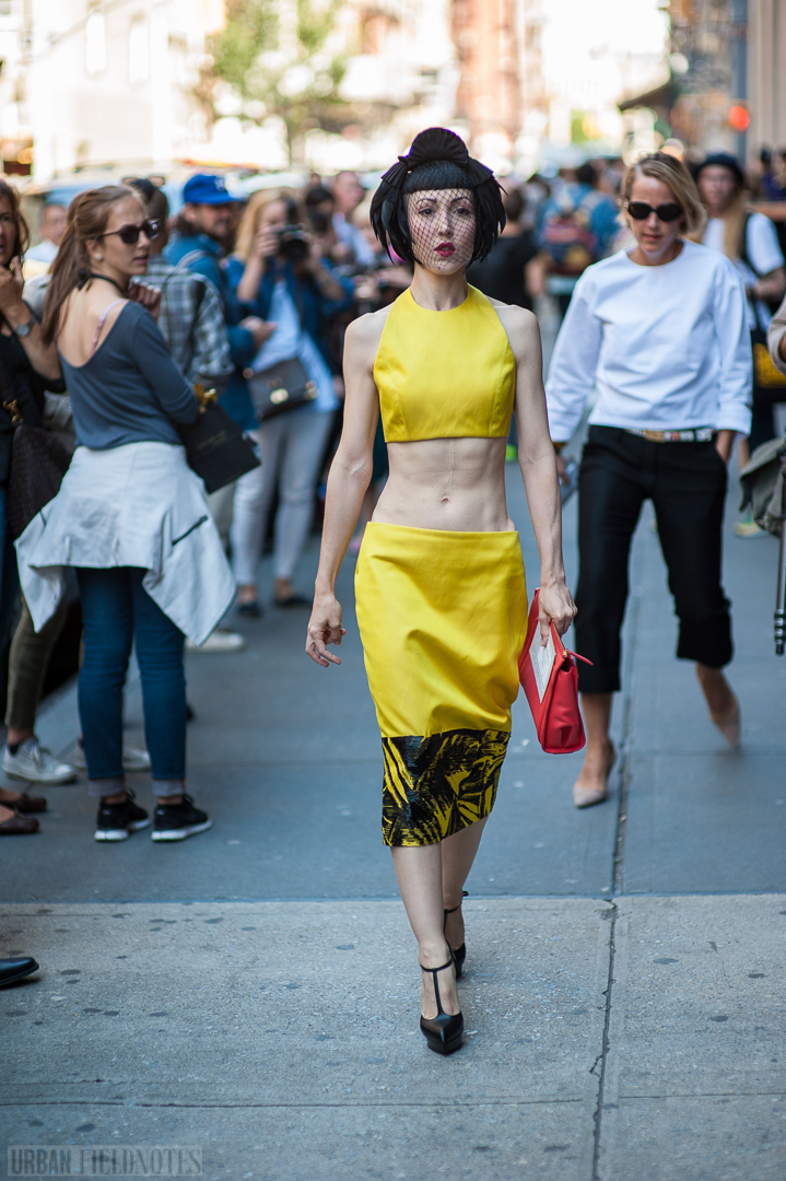 Michelle Harper Jason Wu yellow dress