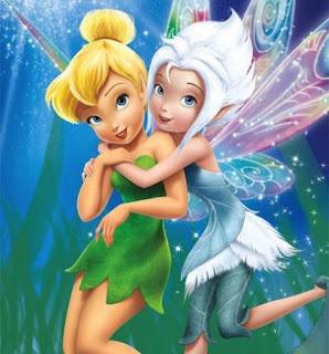 Gambar wallpaper PeriWinkle dan TinkerBell