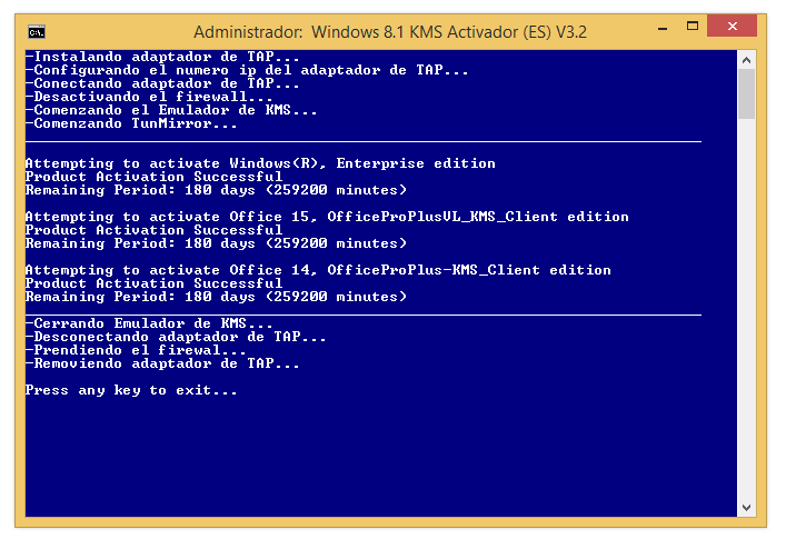 KMS Activator By C.C v.3.2 [Activador de Win 8.1 y office 2013] [MG