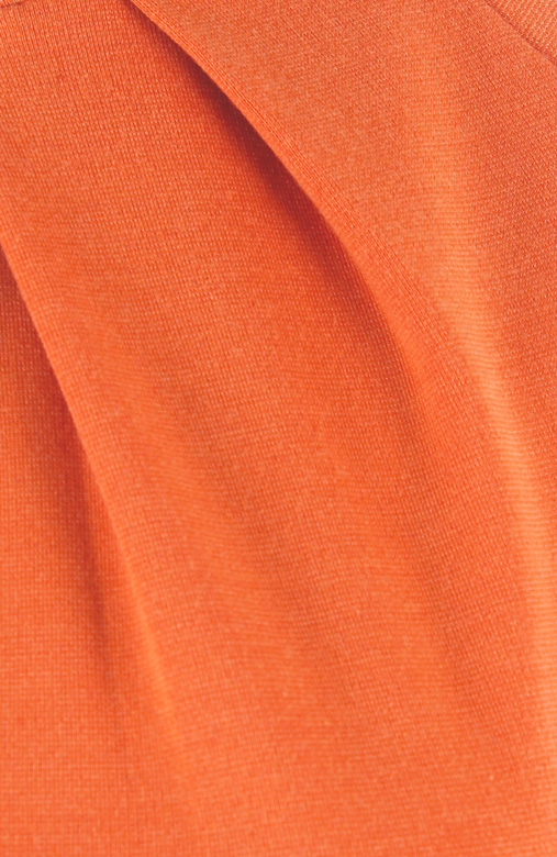 Tangerine Dorothy Perkins-inspired Peplum Dress with Sleeves