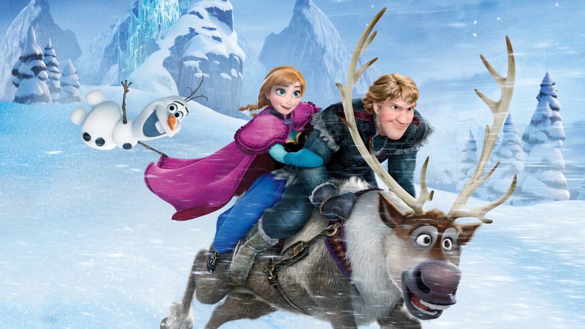 Frozen Movie Scene for Widescreen: 2560x1600 (compatible with any