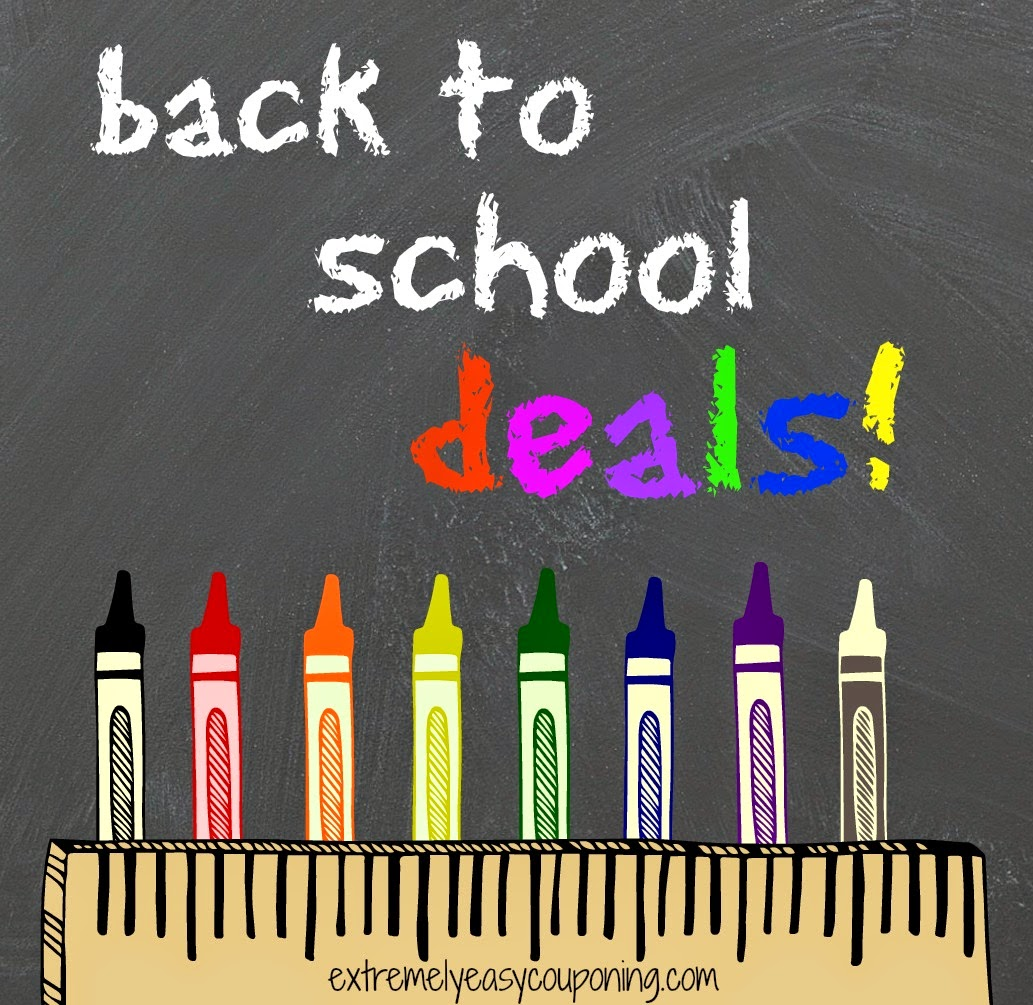 Extremely Easy Couponing Back To School Deals 7 20 7 26