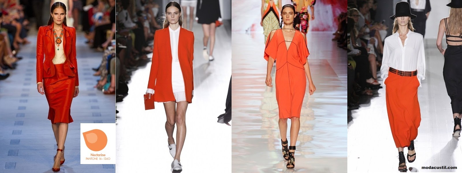 Nectarine - Colors Spring Summer 2013 Fashion